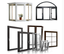 fashion apperance casement window with fixed panel , low price , high quality