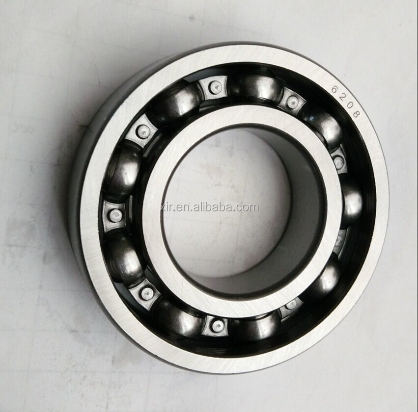 XIR Bearing deep groove ball bearing 6208 chrome steel bearing ABEC-1