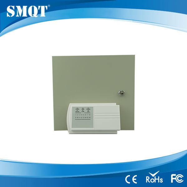 2012 best 8 zones sub-line wired alarm remote control alarm control panel