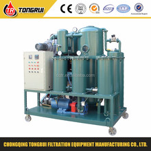 ZJA high quantity bunker oil recycling machine/portable transformer oil filter machine