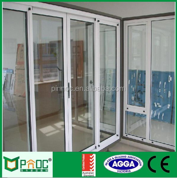 Toilet Glass Sliding Door with Australian Standard AS2047