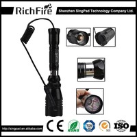 hunting flashlight lamp,green red led hunting flashlight torch mount,1000lm led hunting flashlight