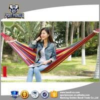 Perfect round parachute camping hammock for outdoor sports