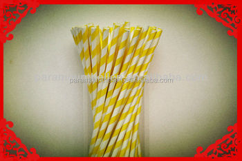 Valentina's Day Paper Drinking Fun High Quality Colorful Paper Straws