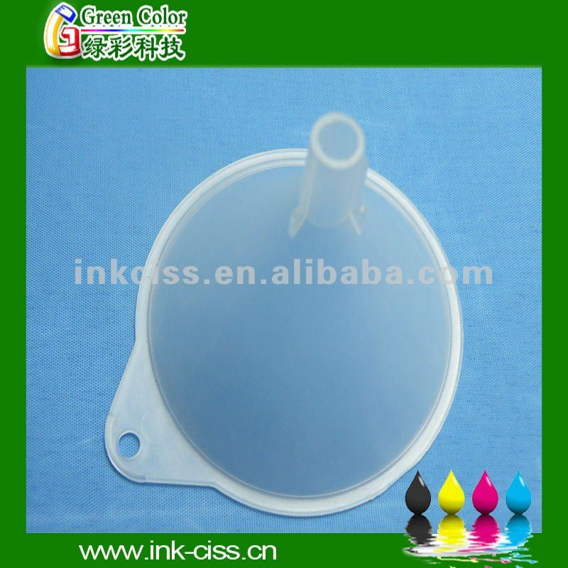 ink funnel for filling refill tool for ciss