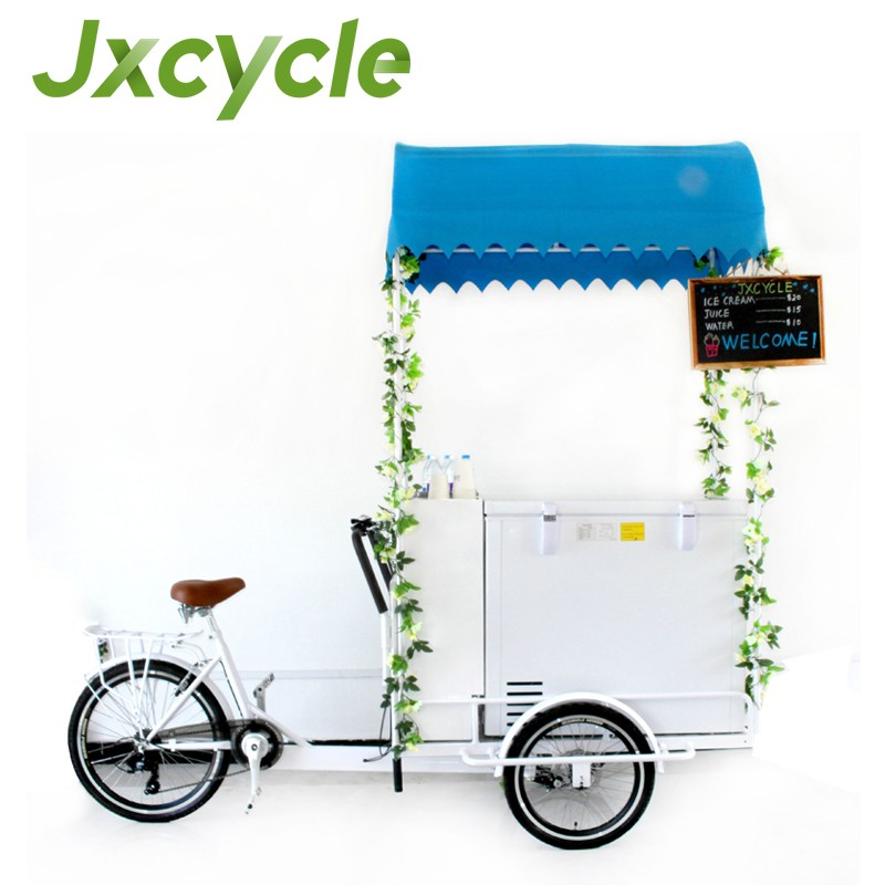 high quality materials ice cream cart tricycle ice cream cart for sale malaysia