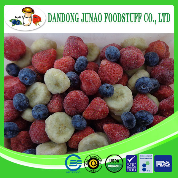 Organic fruit frozen mixed fruit