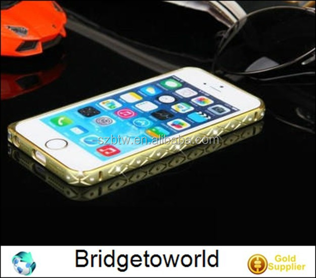 Bling Bling Bumper for iPhone5 Case for iPhone 5S Bumper Case