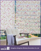 Cheap Window Blind Fabric Printed Roller Blind Fabric Adjustable Window Bind