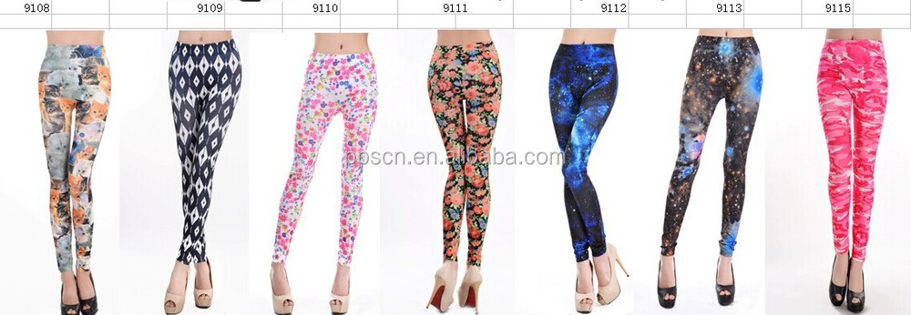 Wholesale best custom printed sexy hot sex tights fitness bulk yoga sport leggings for women