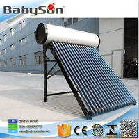 Eco-Friendly 150 Liters compact pressure solar water heater for home use