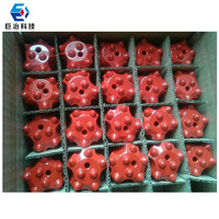 7 degree 40mm dia Tapered Button bit drilling bit for rock bolt machine