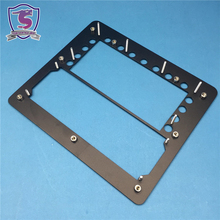 Laser Cutting powder coated black Bending Welding Parts Processing Fabrication Flat Sheet Metal