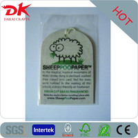Promotional Logo Printed Hanging Paper Car Air Freshener