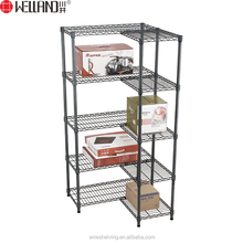 NSF Customized multi-purpose 5 layers grocery display supermarket shelf rack