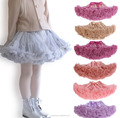 2017 new style pettiskirts for baby girls fluffy tutu skirts party dress