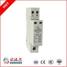 Three Phase Din Rail Surge Protective Device Lightning Protection