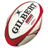 wholesale promotional good quality inflatable customized pvc leather rugby ball small MOQ