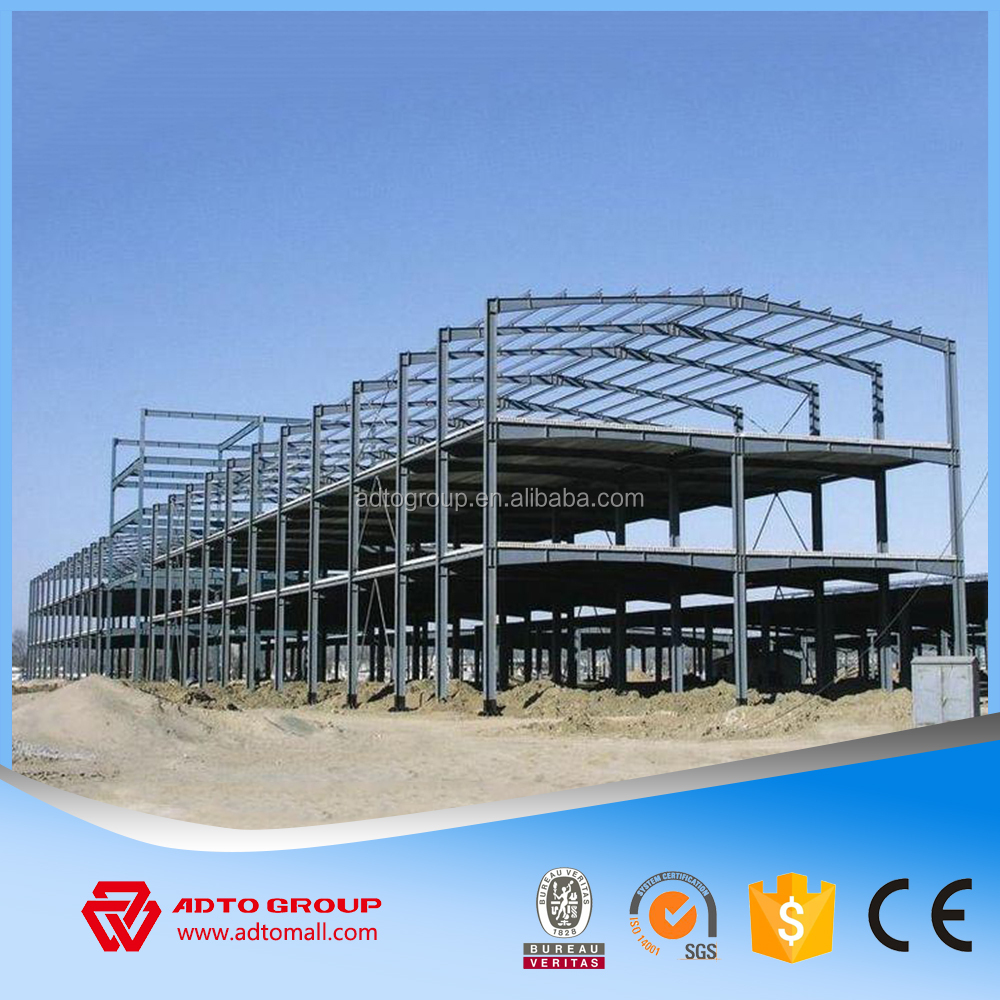 High quality cheap price peb steel structure/light steel frame structure