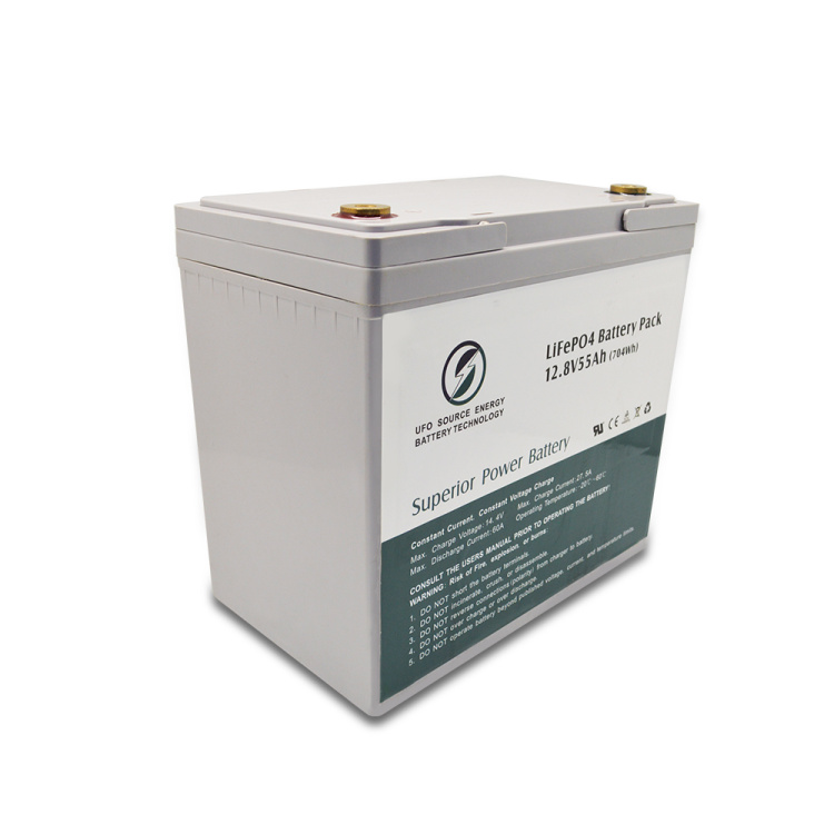Headway battery storage systems 12V 55Ah battery pack solar lithium batteries