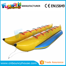 Hot sale inflatable fly fish water fly banana boat water toys