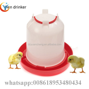 Best price high quality PE Chicken Water Drinkers automatic chicken drinker 1.5L cheap poultry farm drinker in kerala country