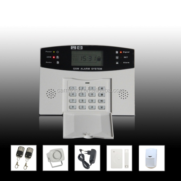 Smart home LCD GSM <strong>alarm</strong> system barking dog <strong>alarm</strong> security <strong>alarm</strong>