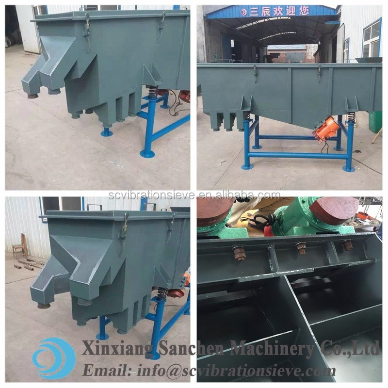 san chen Cream of Tartar Hot sale linear Vibrating Screen factory Price