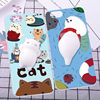 Squishy 3D Silicone Finger Pinch Cat Phone Shell Phone Case for iphone 7 7plus 6 6plus