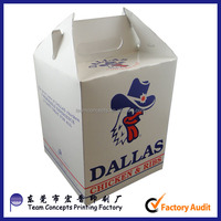 Chicken Type and Custom fried Chicken Box Packaging