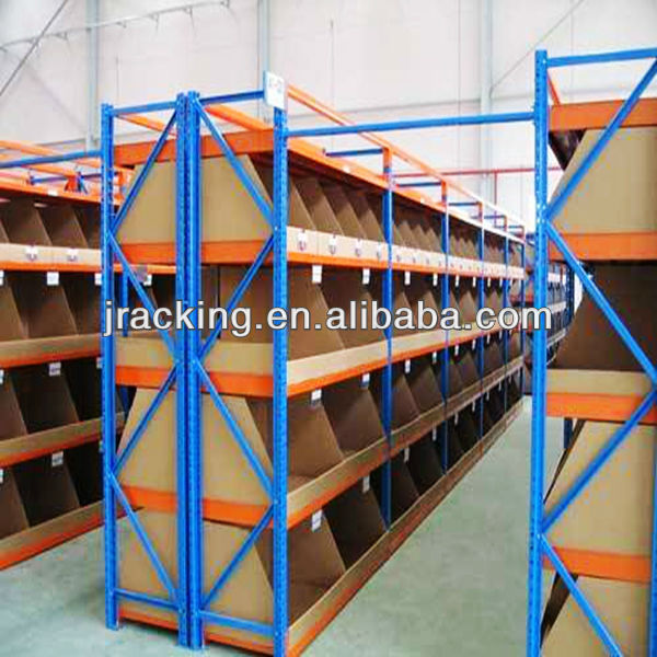 China Nanjing Jracking 55 Style Bolt Free Hand-stack shelving for medium to heavy loads Long Span Shelving Racks