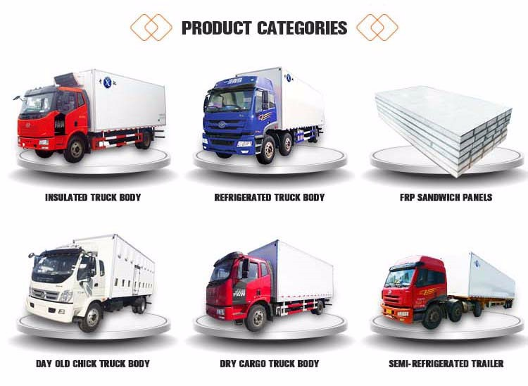 Large Factory Pass ISO best price used refrigerated semi-refrigerated trailer