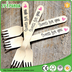 Polka dot, chevron, stripe wooden utensils,crafting spoons forks knives weddings parties banquets