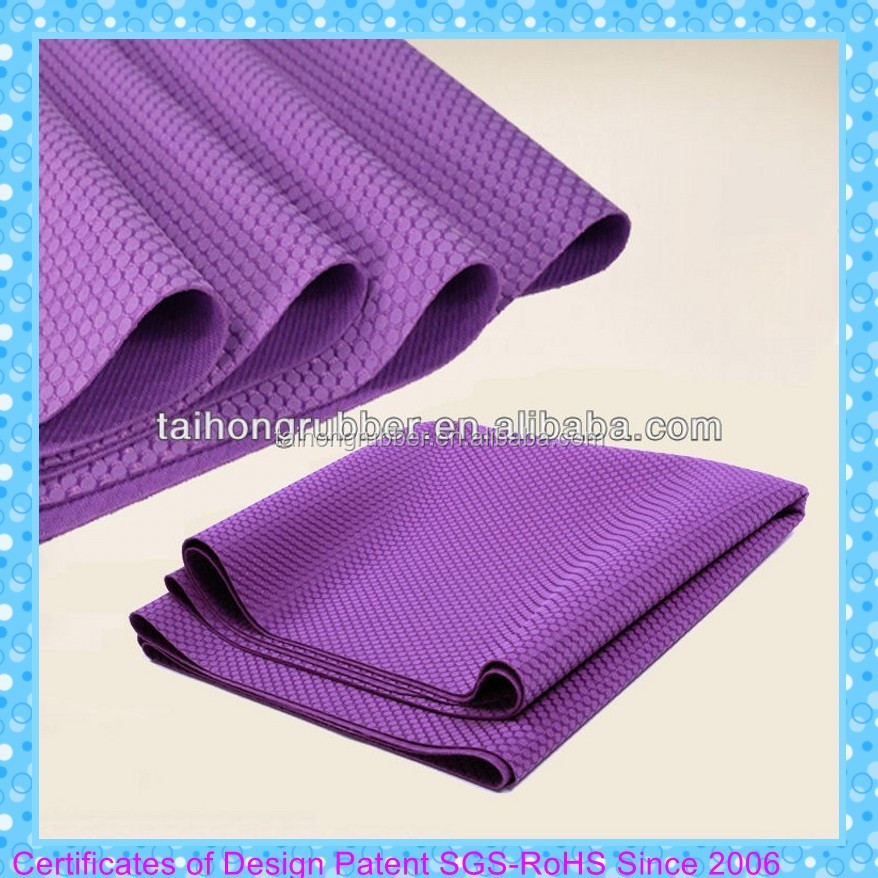 Harmony Travel Mat made from Natural Rubber Yoga Mat 4mm