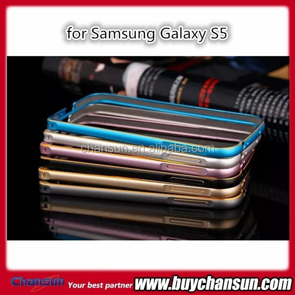 Hot selling Aluminum metal bumper case for Samsung Galaxy S5