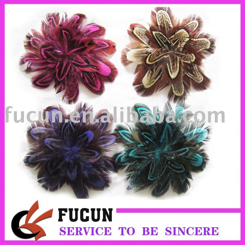 2015 top supplier factory hot sell fashion feather headband /accessories for lady