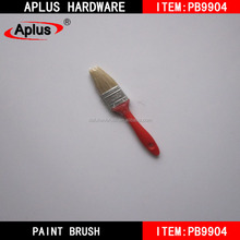 Wall painting tools plastic handle soft boar bristle paint brush factory price brush paint