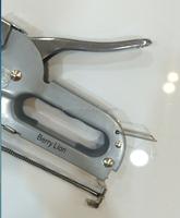 Spray paint silver color stapler 4-8mm, cheap price hand staple gun