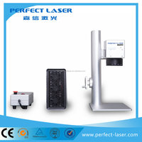 2016 hot sale fiber laser marking mahcine ear tag laser marking equipment for metal parts