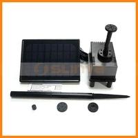 Highly Efficient Solar Power Brushless Pump Fish Pond Solar Pool Pump Kit