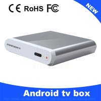 Smart google xmbc ott internet android tv box with hd dvb-t combo