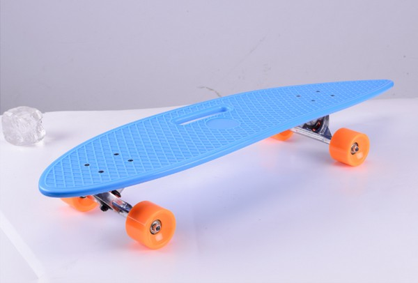 brand new streeting skateboarding best selling transparent skateboards with grip