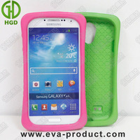 portable handy design unbreakable case for samsung galaxy s4 pink