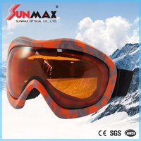 Taiwan Factory CE FDA standard popular ski goggles fashion racing ski googles discount ski goggles with CE certificate