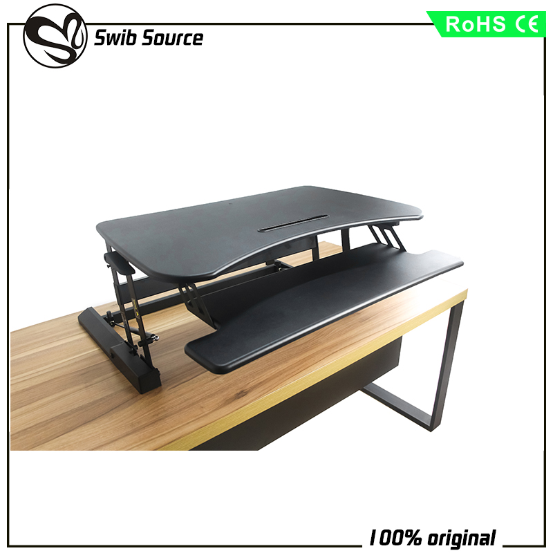 large desktop and keyboard computer desk for office VM-LD02-A4