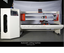High efficiency automatic protective film/opp/pet/pvc/masking/cloth/electric/double-side tape cutting machine