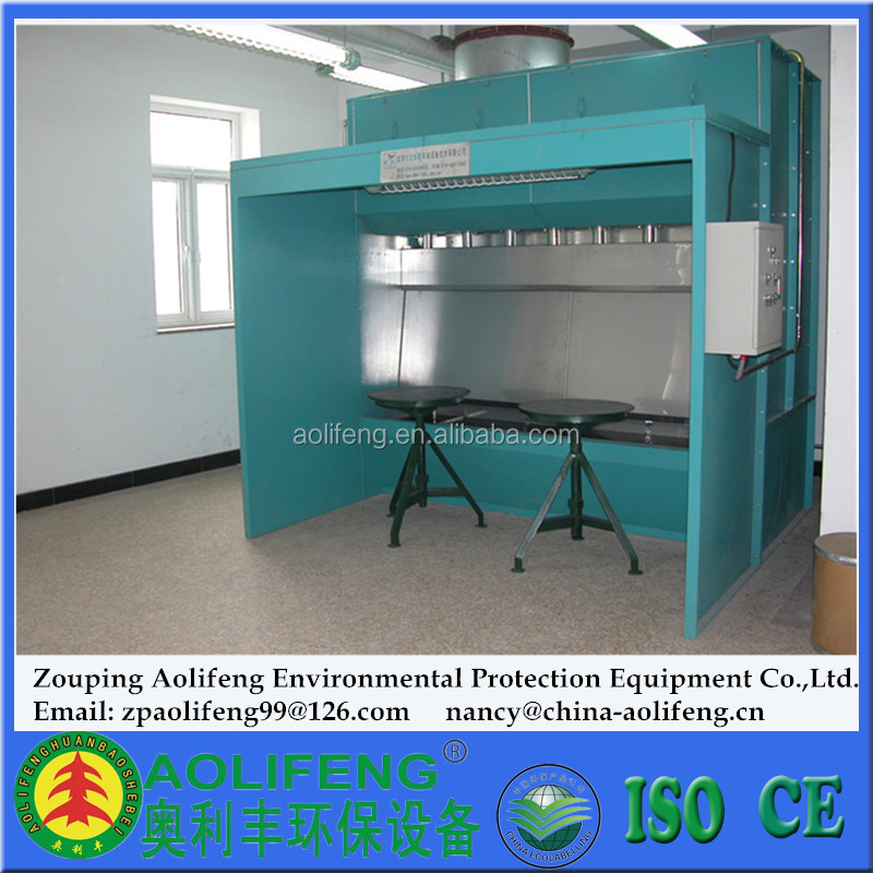 ALF Industrial/Furniture Use Water Curtain Paint Booth/Spray Booth