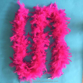 Fashionable feather boa for party and shows