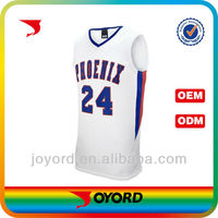 Latest best college basketball jersey uniform design with letter
