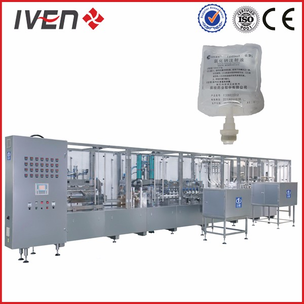 Dextrose IV Infusion Packaging Line